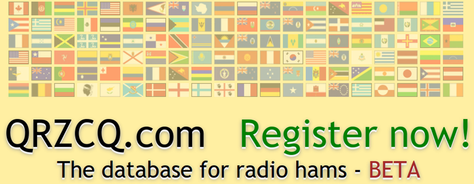 QRZCQ - The database for radio hams - BETA